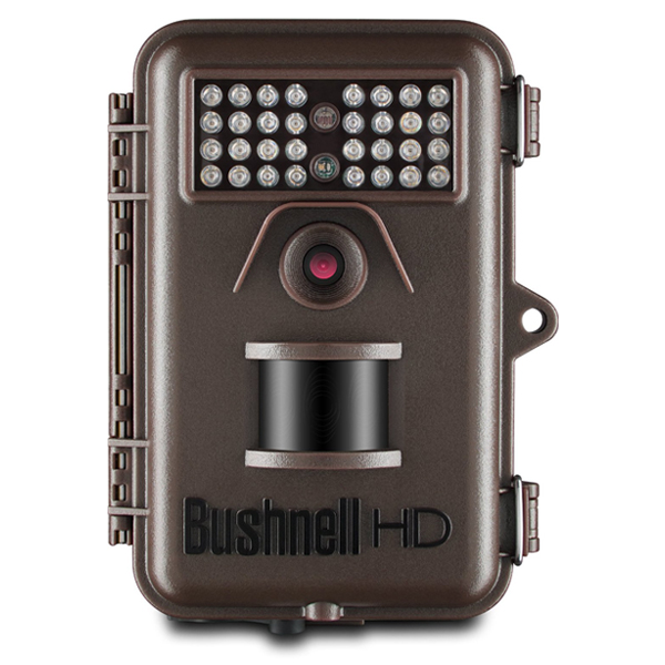 부쉬넬 캠 카메라 Bushnell 12MP Trophy Cam HD Essential Low Glow Trail Camera Brown