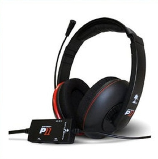 터틀비치 이어포스 게이밍 헤드폰/Turtle Beach PS3 Ear Force P11 Stereo Gaming Headset