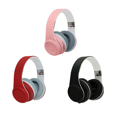 페니왕 DJ 헤드폰/패니왕/Fanny Wang Headphones Co. Over Ear DJ Headphones(FW-2003-PNK-WHI)