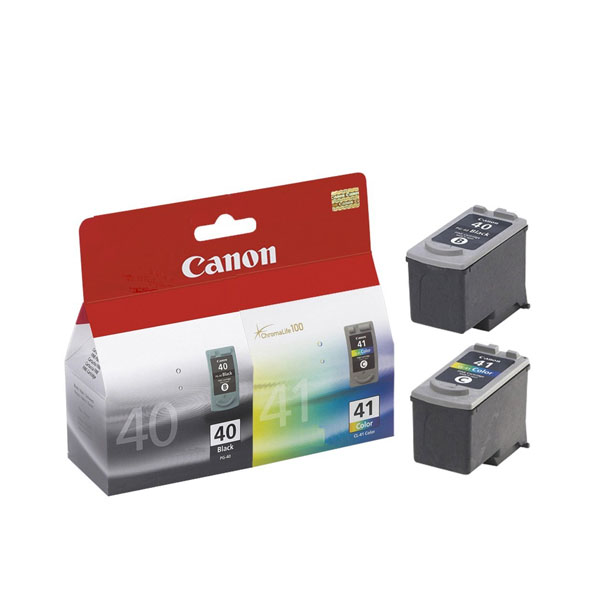 캐논 잉크 카트리지 콤보/Canon PG-40/CL-41 OEM Genuine Inkjet/Ink Cartridges Combo 2PACK