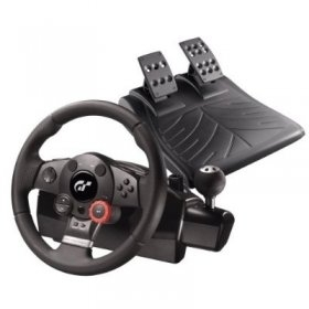 로지텍 레이싱 휠/핸들/Logitech PlayStation 3 Driving Force GT Racing Wheel