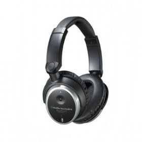 오디오테크니카 헤드폰/Audio Technica ATH-ANC7B Active Noise-Cancelling Closed-Back Headphones