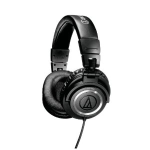 오디오테크니카 헤드폰/Audio-Technica ATHM50S Professional Monitor Headphones