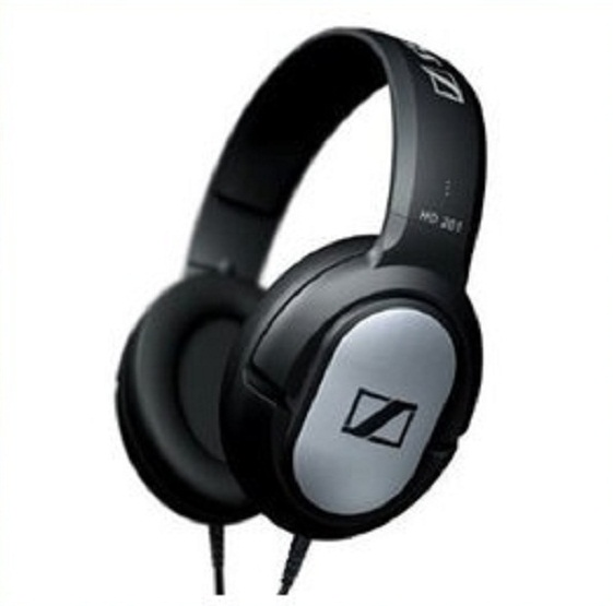 젠하이저 헤드폰/이어폰/Sennheiser HD201 Lightweight Over-Ear Binaural Headphones