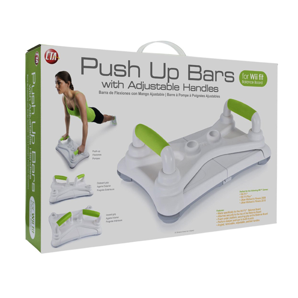 닌테도 WII 푸쉬업 바 CTA Digital Wii Push Up Bar