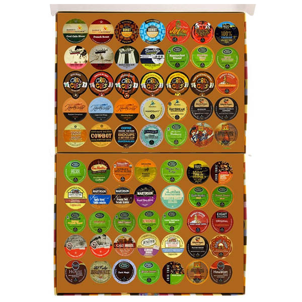 큐리그 케이컵 커피 70개 세트 Coffee Only Deluxe Variety Pack for Keurig K-Cup Brewers 70 Count