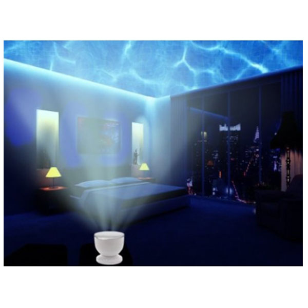 웨이브 나이트 라이트 낭만 조명 프로젝터 Abco Tech Ocean Wave Night Light Projector and Music Player