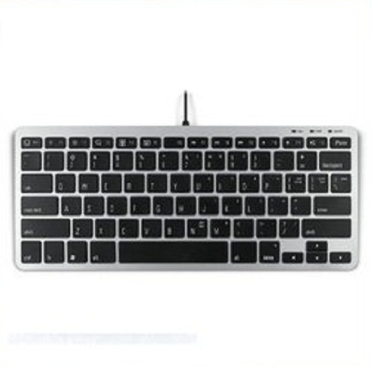 마티아스/키보드/Matias Slim One Keyboard with Mini Rizer for iPhone and PC