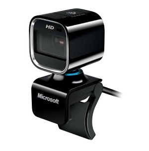 마이크로소프트 라이프캠/웹캠/Microsoft LifeCam HD-6000 720p HD Webcam for Notebooks