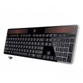 로지텍 무선 키보드/Logitech Wireless Solar Keyboard K750