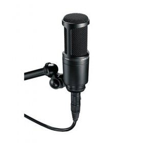 오디오테크니카 마이크/Audio Technica AT2020 Side Address Cardioid Condenser Studio Microphone