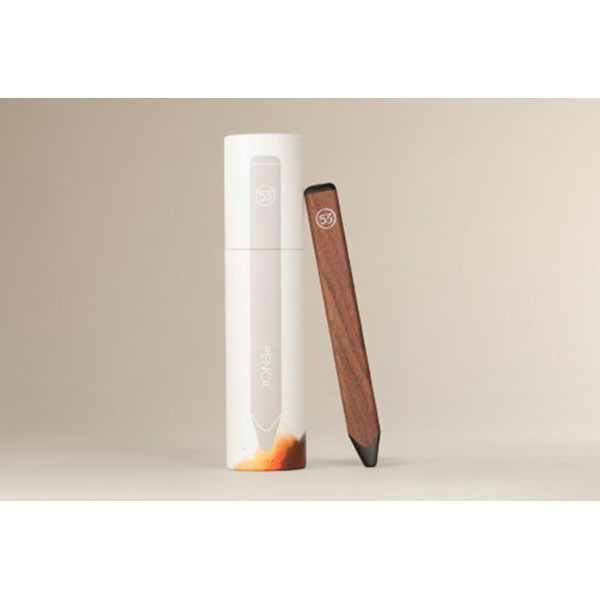 피프티쓰리 스냅 펜슬/FiftyThree Walnut + Magnetic Snap Pencil. Made for Paper