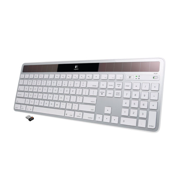 로지텍 무선 솔라키보드/Logitech Wireless Solar Keyboard K750 for Mac
