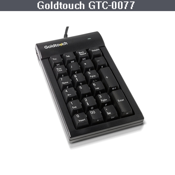 골드터치 PC USB 숫자 키보드 Goldtouch PC USB Numeric Keypad GTC-0077