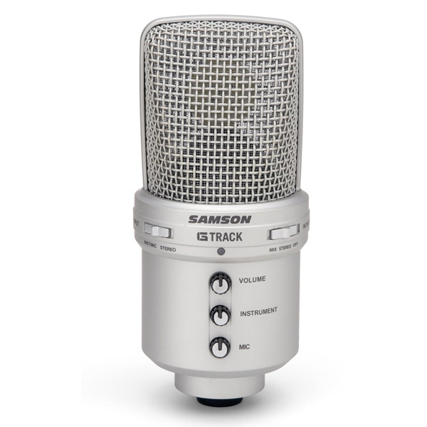 삼손 지트랙 마이크 오디오 인터페이스 Samson G-Track USB Condenser Microphone with Audio Interface